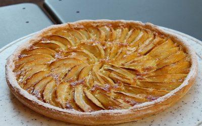Tarte aux pommes low carb